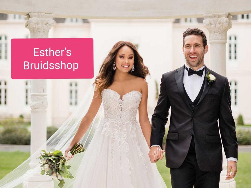 Trouwjurk Passen Zonder Afspraak.Esther S Bruidsshop In Almere Theperfectwedding Nl