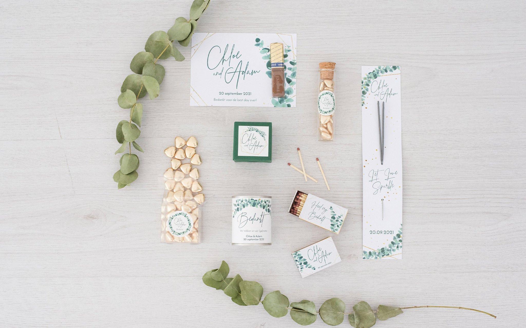 Originele Huwelijksbedankjes Leuke Ideetjes Voor
