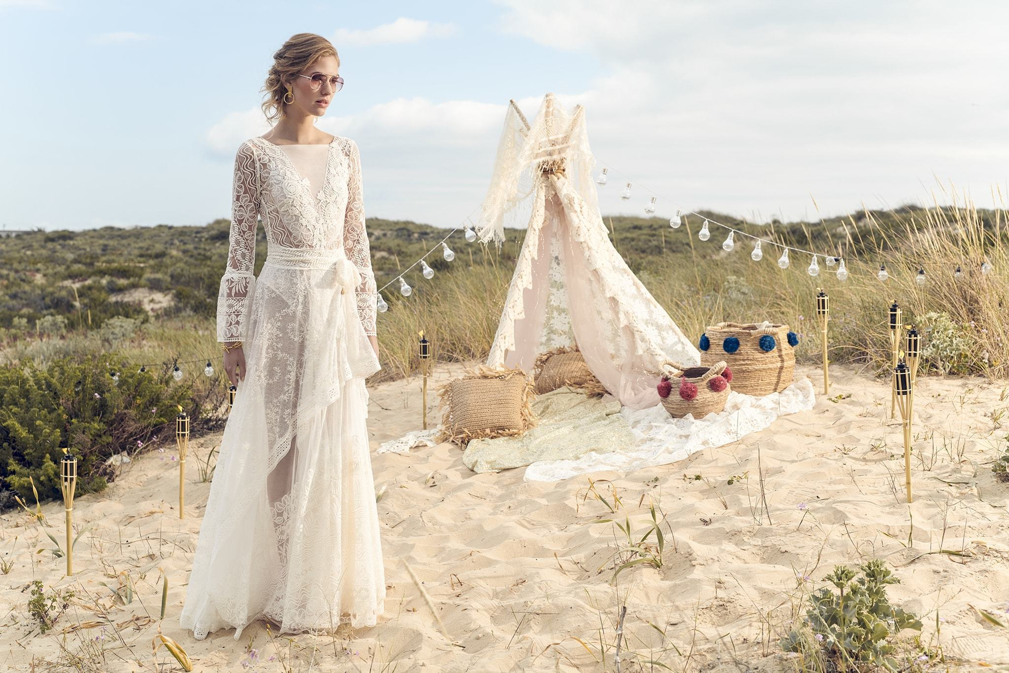 Boho Trouwjurk Kopen.Bohemian Trouwjurken Inspiratie Voor De Perfecte Boho Bruidsjurk