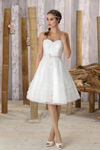 Korte Trouwjurken Theperfectwedding Nl