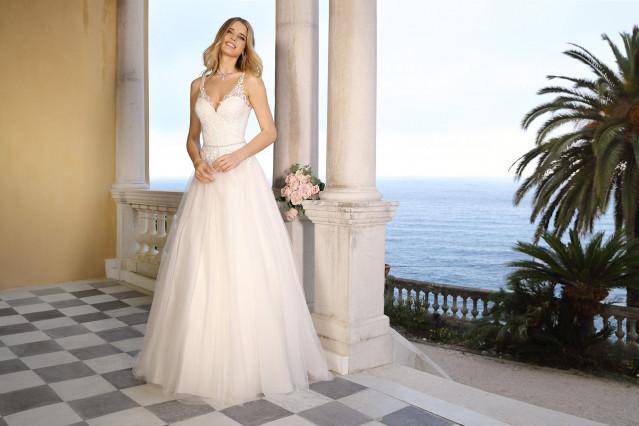 Kleine hochzeitskleid frauen für zierliche Brautkleider für