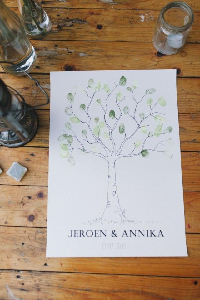 Bekend Gastenboek voor je bruiloft | ThePerfectWedding.nl &ZW35
