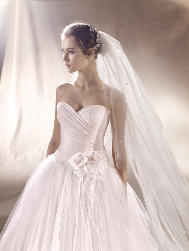 Vaak 9x trouwjurken in een blush kleur | ThePerfectWedding.nl @IB64