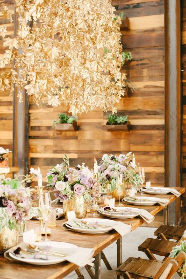 Decoratie Tip Geverfde Planten Op Je Bruiloft