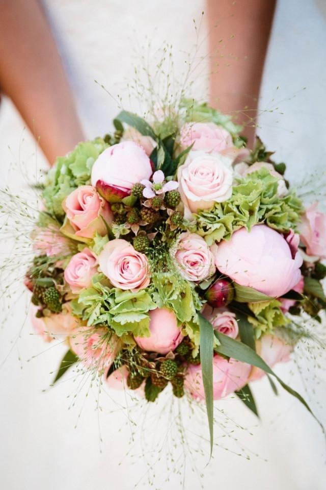 Bruidsboeket Met Pioenrozen Theperfectwedding Nl