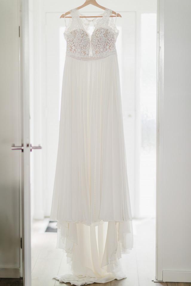 Brautkleid am Haken