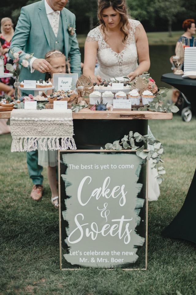 Sweet Table für die Hochzeit