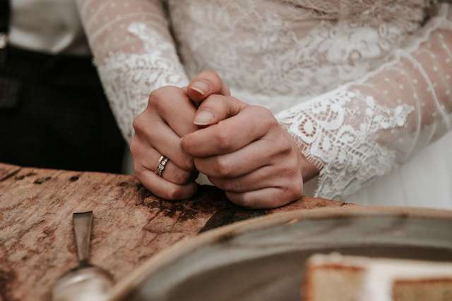 Verlobungsring als Vorsteckring