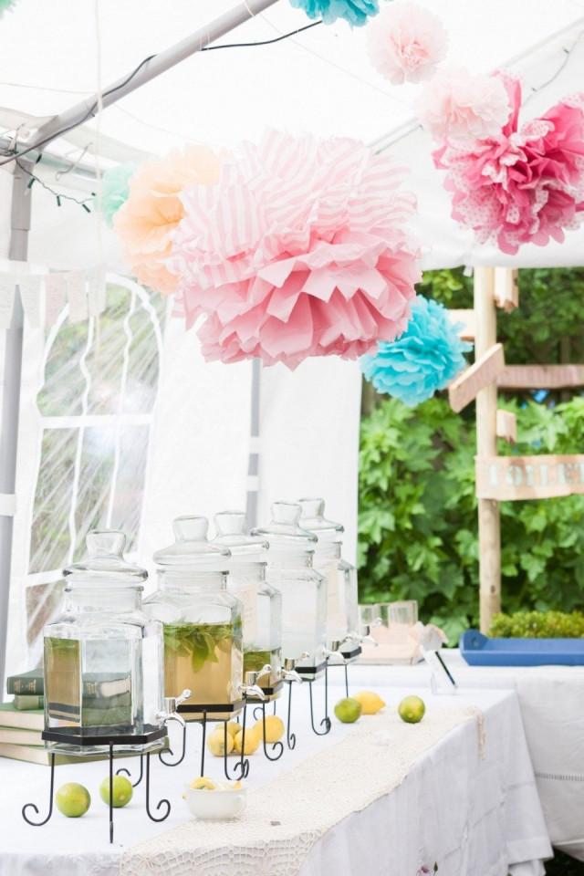 Inspiratie voor een zomer bruiloft for Tafeldecoratie bruiloft