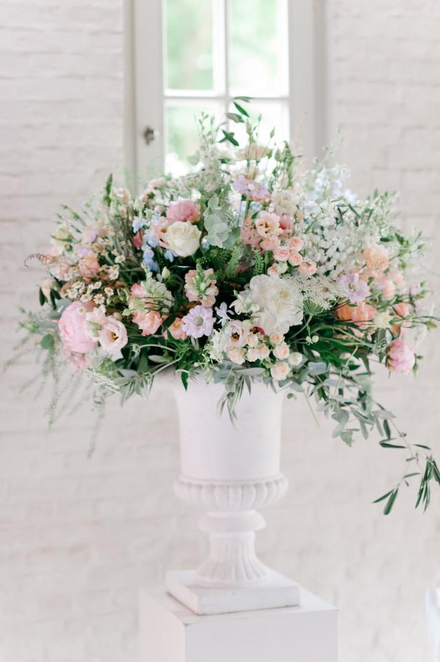 Bruiloftdecoratie met bloemen dit moet je weten for Decoratie bruiloft zelf maken