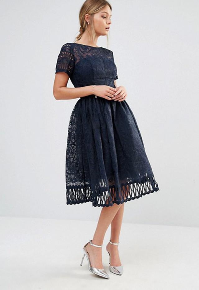 jurk voor op een trouwerij