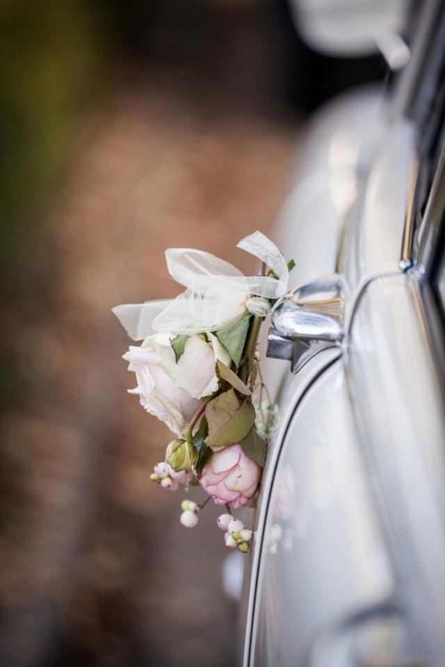 Hochzeitsauto Deko
