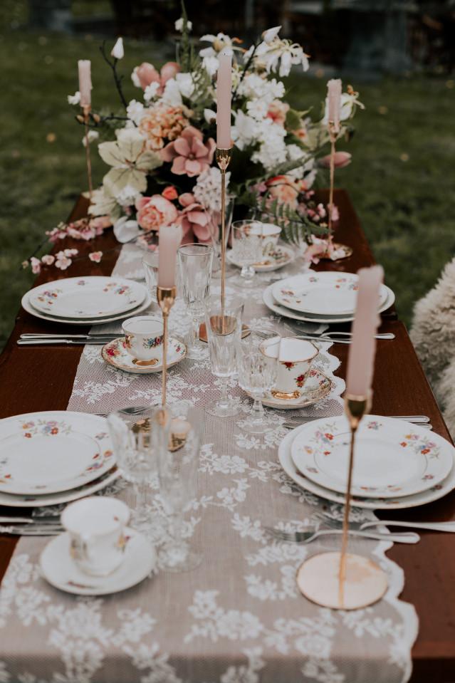 Tischdeko Hochzeit Vintage Ist Trend Theperfectwedding De