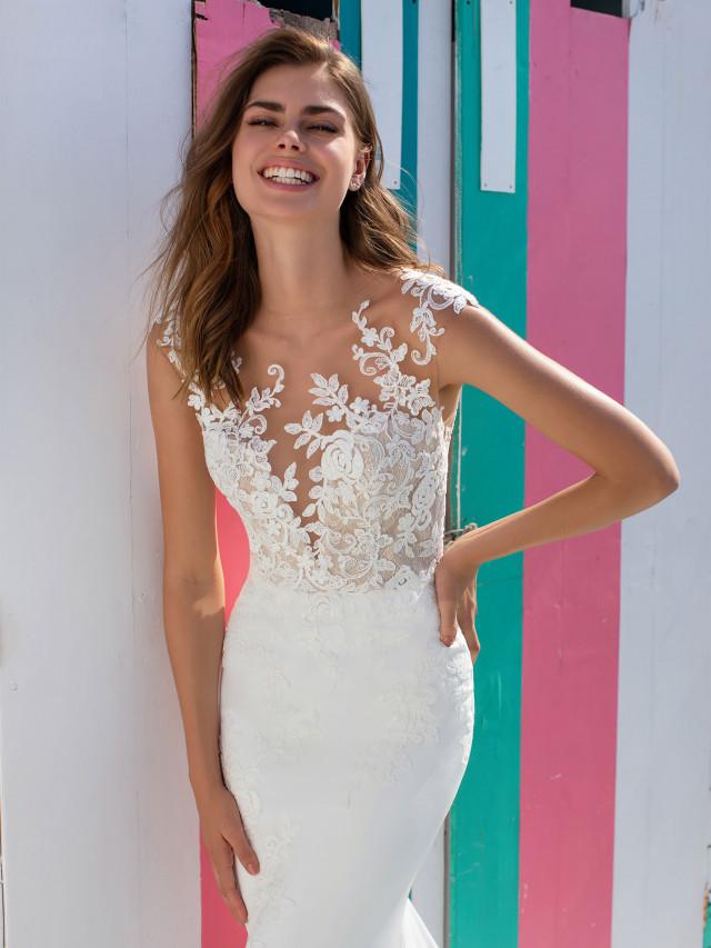 Kleine hochzeitskleid frauen für zierliche Brautkleid für