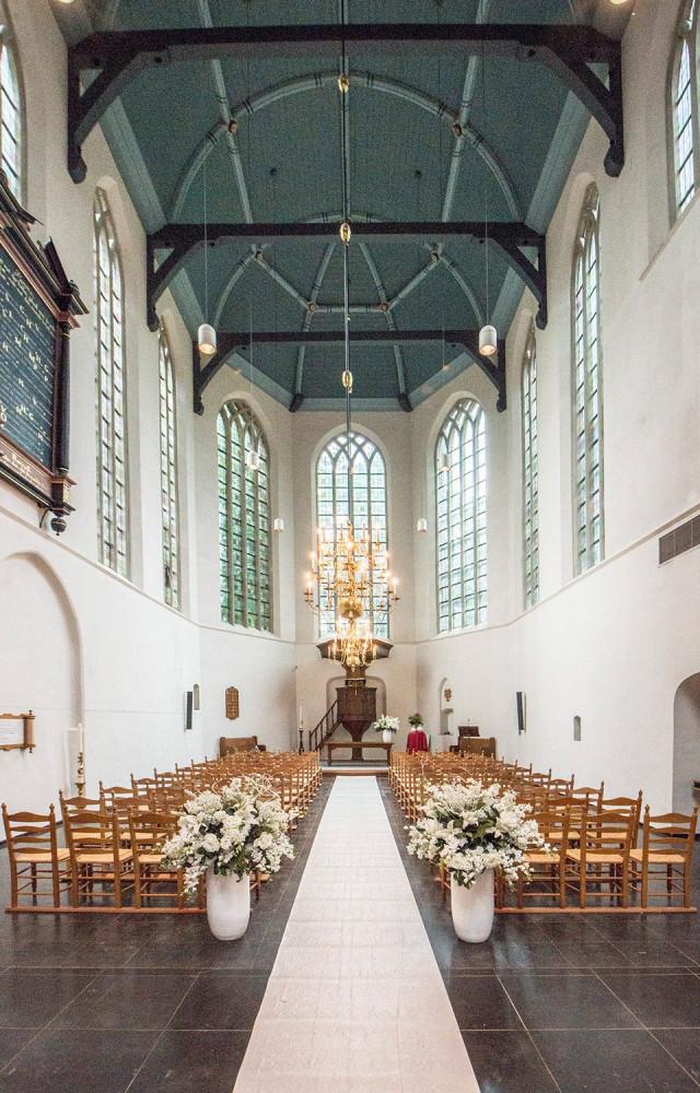 kerk huren voor bruiloft