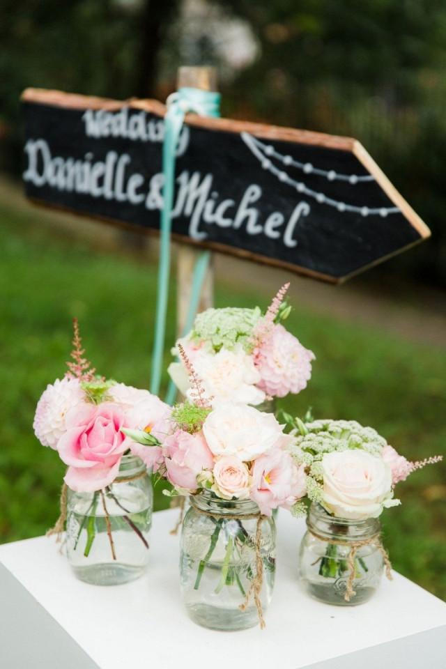 Decoratie met de jampot of mason jar op je bruiloft for Bruiloft versiering zelf maken