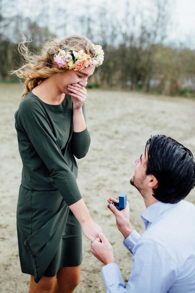 Heiratsantrag Machen