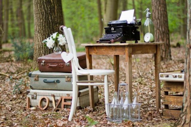 Inspiratie voor een antieke bruiloft - Decoratie villas ...