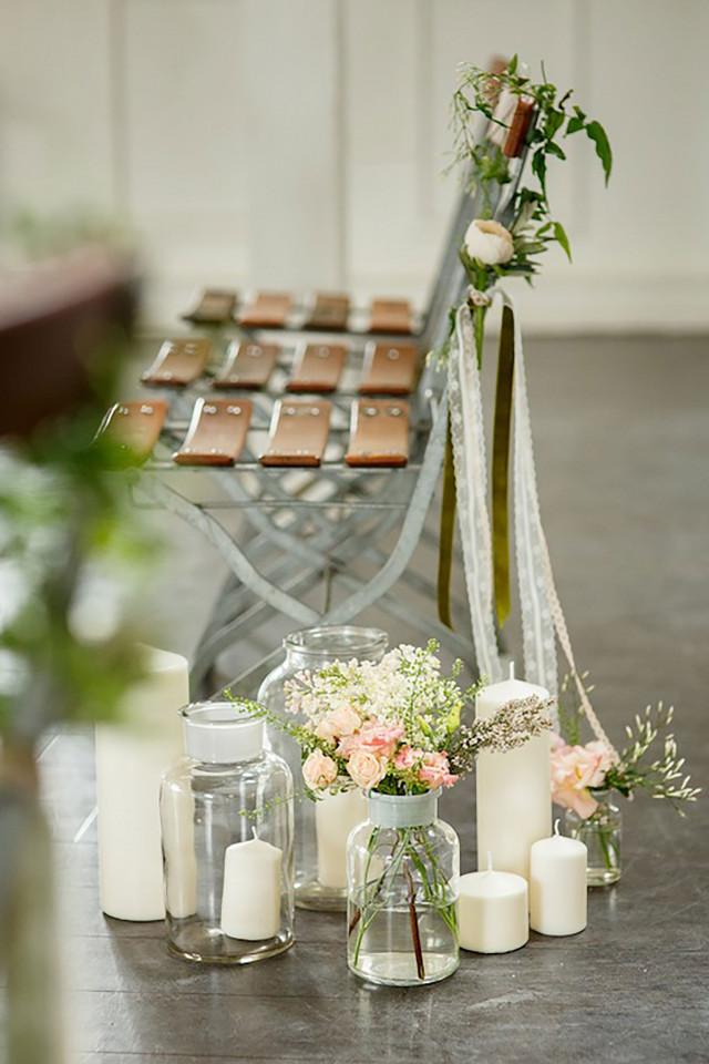 10 tips voor bruiloftsdecoratie in de kerk for Tafeldecoratie bruiloft