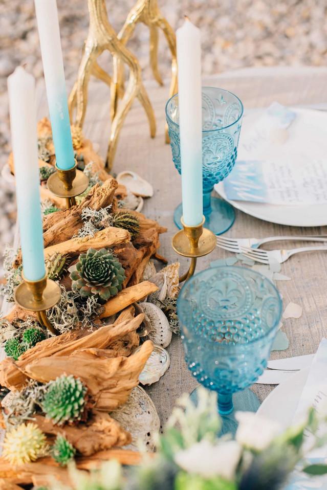 Styled shoot strand bruiloft theperfectwedding