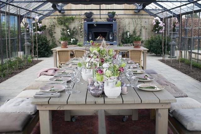 Styled shoot trouwen op een landelijke trouwlocatie for Decoratie tafel landelijk