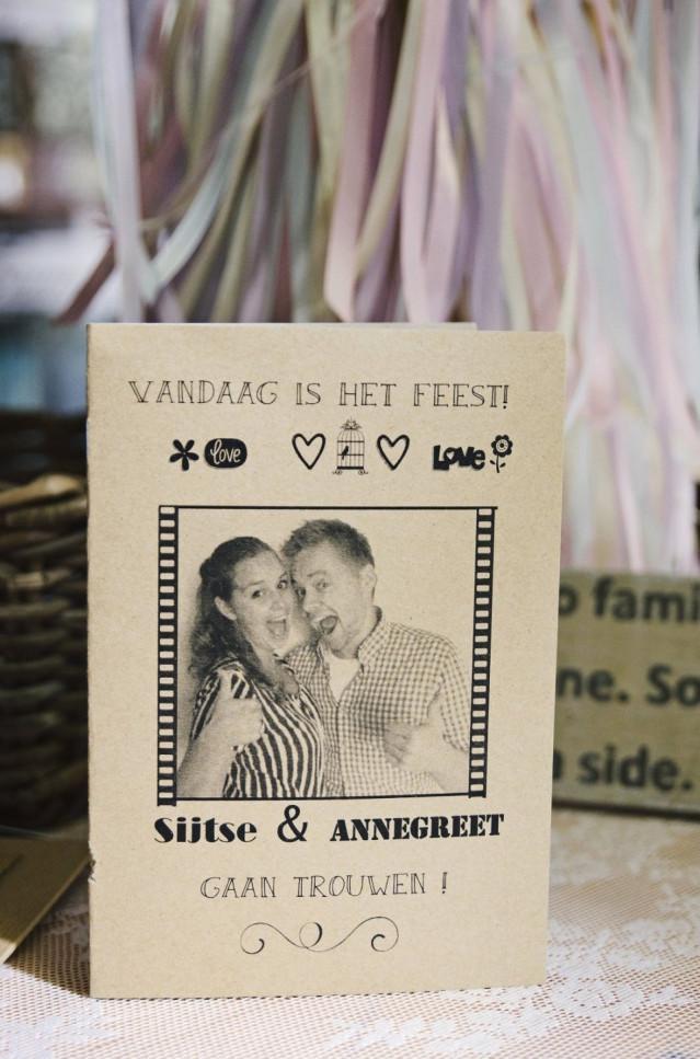 New Trouwkaart met foto | ThePerfectWedding.nl &KD83