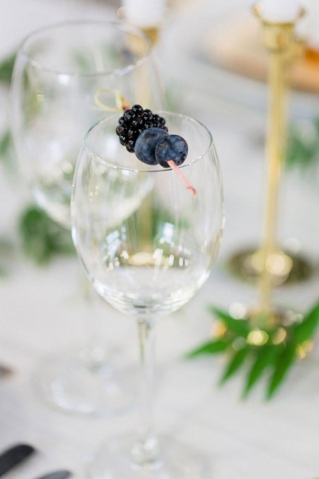 Drank op je bruiloft - Decoratie chique campagne ...
