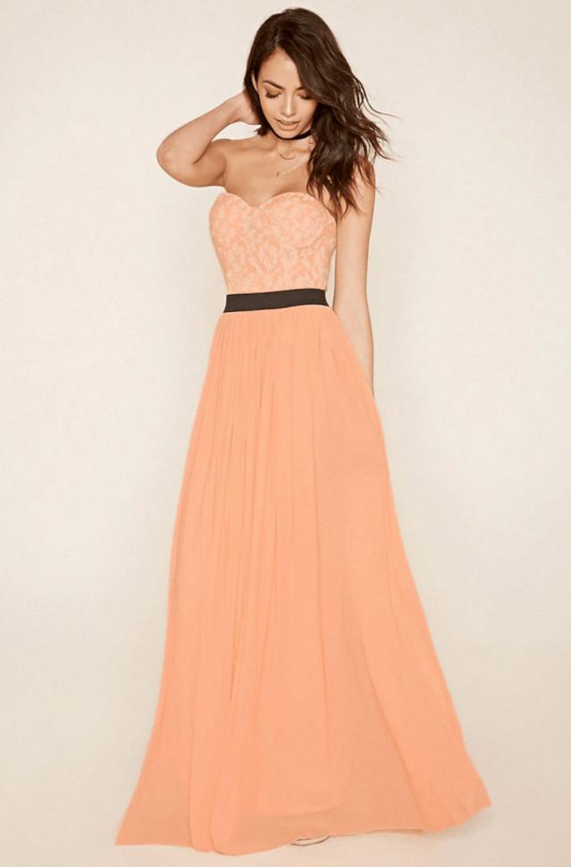 Creme jurk lang
