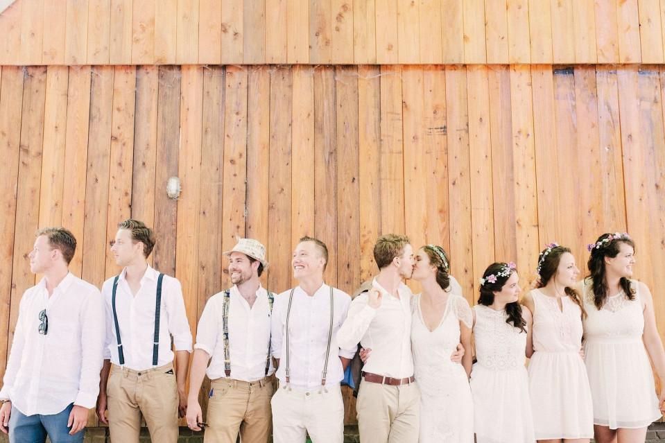 De getuigen voor het huwelijk theperfectwedding