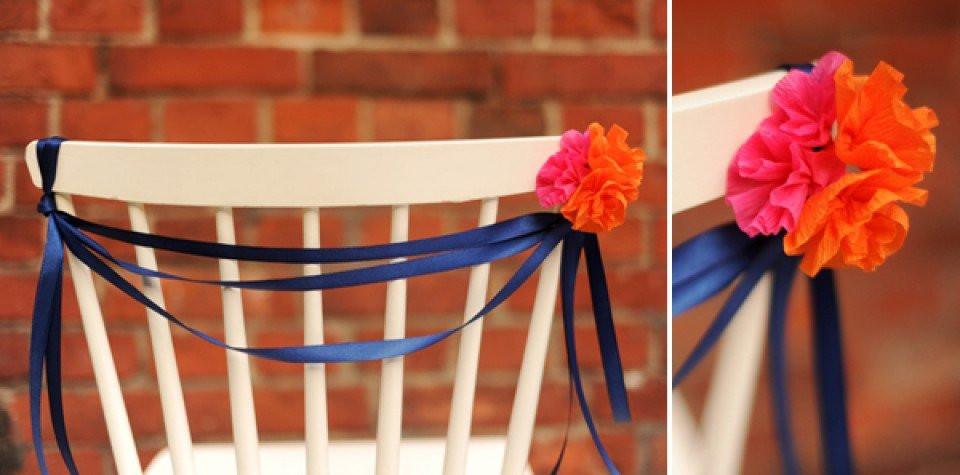 Papieren Bloemen Als Bruiloft Decoratie Diy