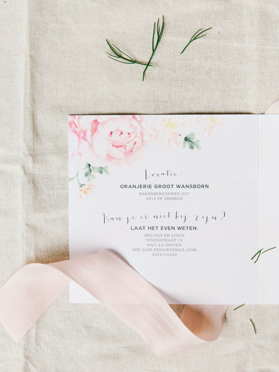 Fabulous Tekst voor de trouwkaart - Voorbeeld teksten   ThePerfectWedding.nl #RS85