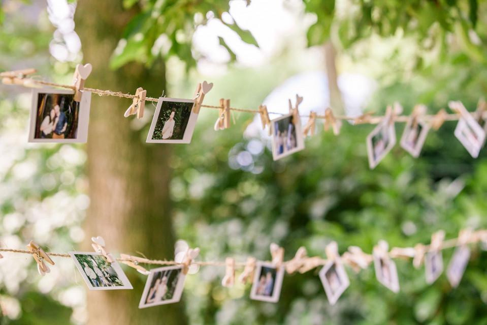 Polaroids op je bruiloft - Fotos decoratie ...
