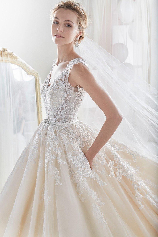 Sprookjesachtige prinsessenjurken shine like a queen Nicole wedding dress 2018