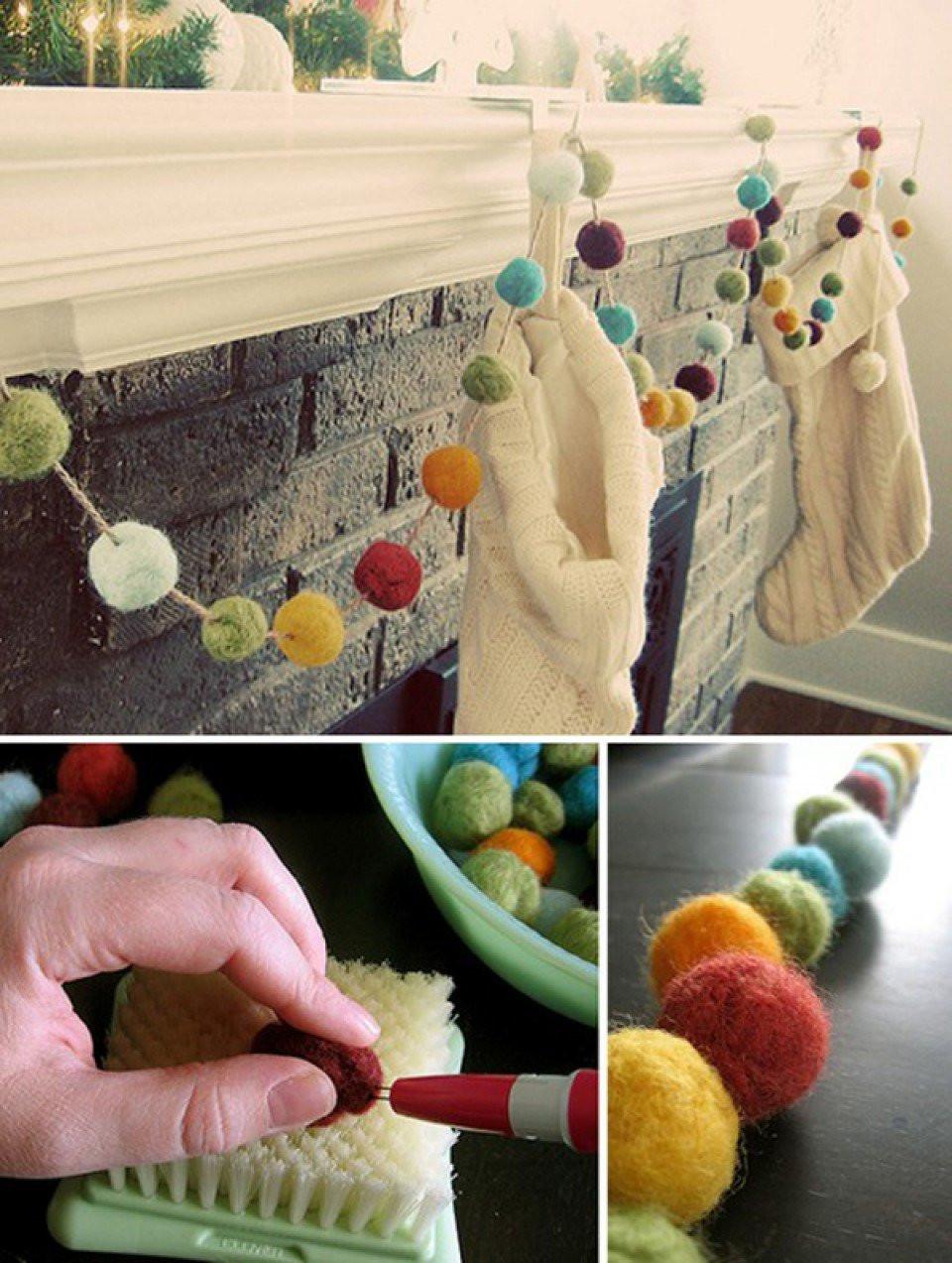 Decoratie tijdens je trouwdag maak zelf een slinger for Zelf decoratie maken