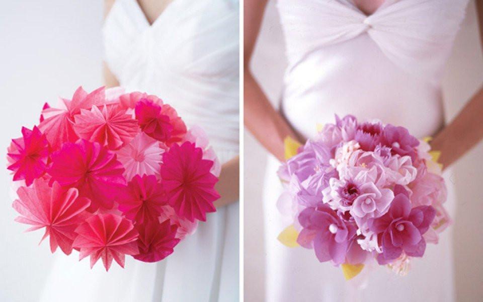 Papieren decoratie als versiering op je bruiloft lekker goedkoop - Fotos decoratie ...